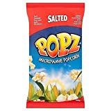 Popz Salted Microwave Popcorn 100g x Case of 15