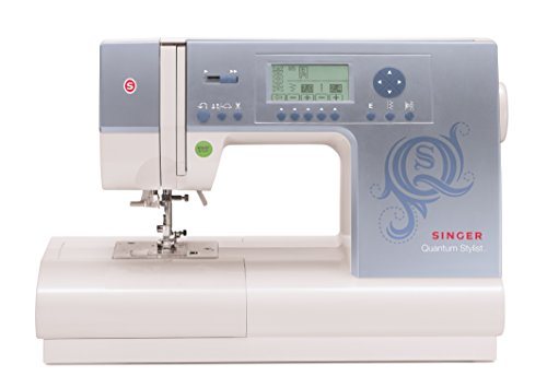 Singer 9980 Quantum Stylist 820-Stitch Computerized Sewing Machine with Large LCD Screen and 13 Presser Feet (Viking Sewing Machines For Sale compare prices)