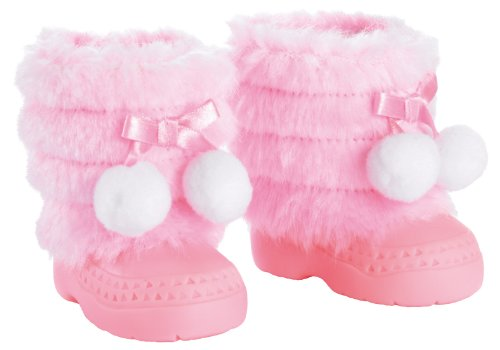 Bayer Design 73101 - Stivaletti invernali per bambola, colore: Rosa