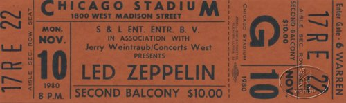 Concert Led Zeppelin