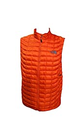 The North Face Mens ThermoBall Vest (Valencia Orange, X-Large, C763-N4P)