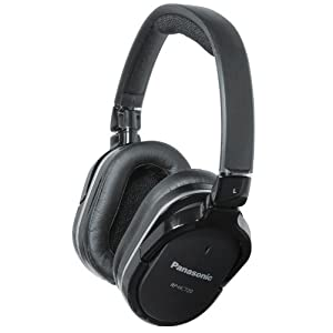 Panasonic RPHC720K Over-Ear Headphones, Black $45.44