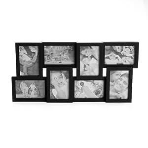 Melannco 8-Opening Collage Frame (Black)