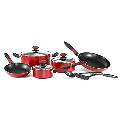 Mirro Get A Grip Aluminum Nonstick 10-Piece Cookware Set