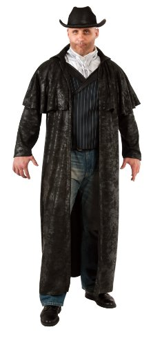 Rubie's Costume Adult Full Cut Gunslinger Costume, Black, Plus