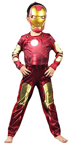 Love MM Kind Kostüm iron Man Karneval Halloween (M)