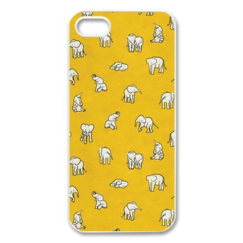 Treasure Design Funny Indian Baby Elephants Apple Iphone 5 Best Durable Case front-540555