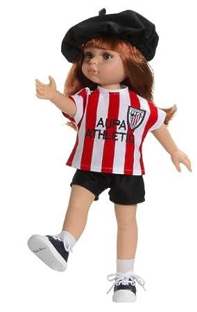 Paola Reina - 04708 - Poupée - Cristi - Collection Les Amigas Supportrices De L'athlétique Bilbao - Produit Officiel - 32 Cm