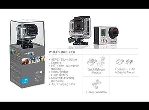 GoPro Hero 3 Silver Camera
