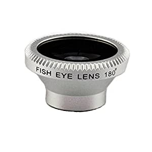 Silver Fish Eye Lens for Iphone apple