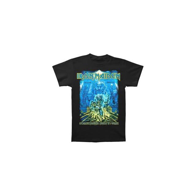 Iron Maiden Mens SBIT Mummy T shirt Black