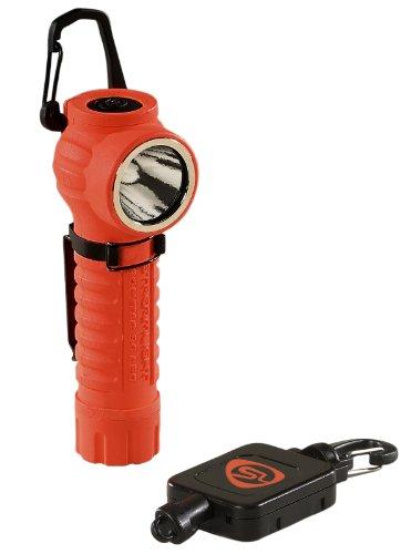 Streamlight 88832 Poly Tac Led Orange Flashlight With Gear Keeper