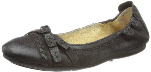 Mjus Womens 670684 Ballet Flats Black Schwarz (NERO+NERO) Size: 8 (42 EU)