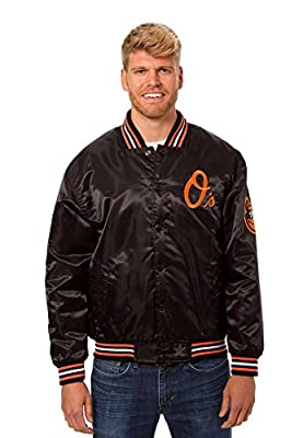 Baltimore Orioles Lightweight Satin Jacket