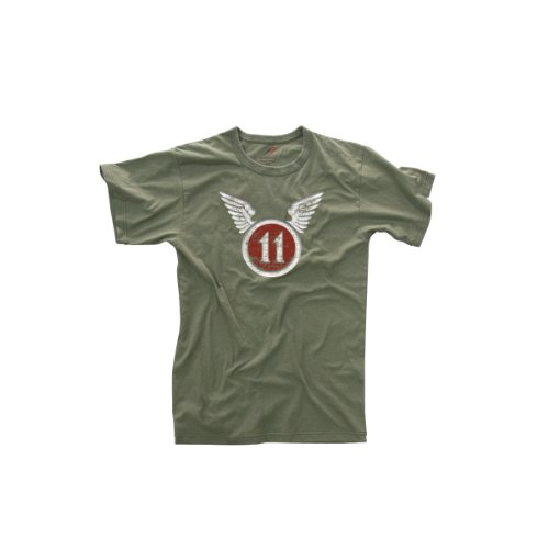 Rothco Vintage Army 11th Airborne OD T-Shirt