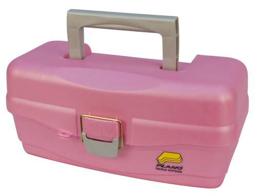 Plano One Tray Tackle Box (Pink)