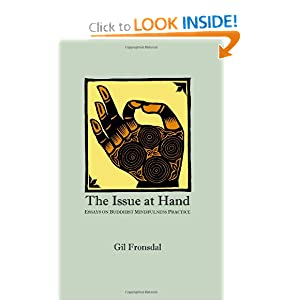 The Issue At Hand: Essays On Buddhist Mindfulness Practice Gil Fronsdal