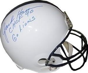 Jack Ham signed Penn State Nittany Lions Full Size Replica Helmet CHOF 90 & Go...