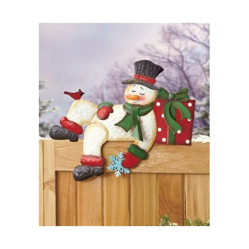 Snowman Fence Topper