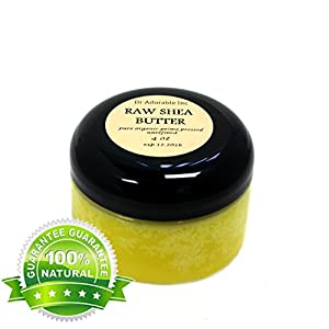Unrefined Shea Butter Pure Raw 4 Oz