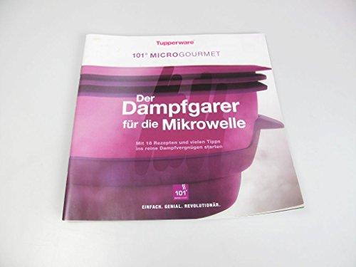 TUPPERWARE Rezeptheft Kochbuch Der Dampfgarer für die Mikrowelle