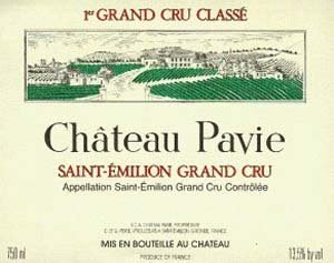 2011 Chateau Pavie St. Emilion Grand Cru Bordeaux 750Ml