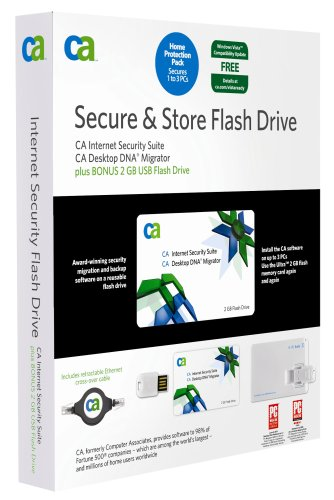 CA Internet Security Suite & DNA Migrator Flash Drive 2007 (PC)