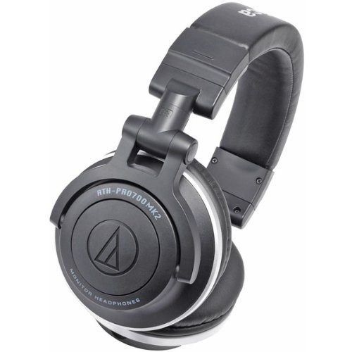 Professional Dj Monitor Headphones With Dual-Use Cords