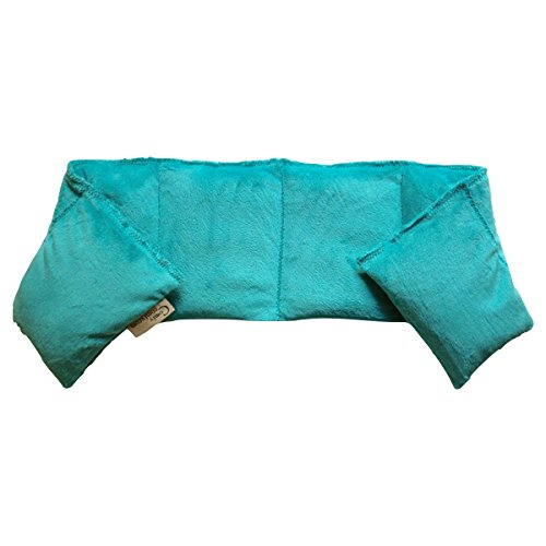 Buy Discount Flaxseed Pillow - Neck Wrap (Aqua) Made in USA