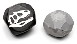 Fossil Erasers. Set of 2.