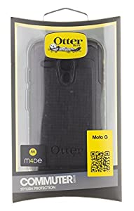 OtterBox Commuter Series Case for Moto G - Retail Packaging - Black