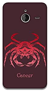 The Racoon Lean Cancer hard plastic printed back case / cover for Microsoft Lumia 640 XL