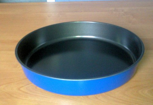 Set of 2 Deep Dish Microwave Crisper (Blue)