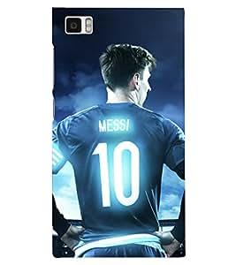 PRINTSHOPPII MESSI FANS Back Case Cover for Xiaomi Redmi Mi3::Xiaomi Mi 3