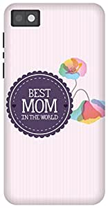 The Racoon Lean Best Mom hard plastic printed back case/cover for Blackberry Z10