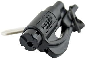 resqme The Original Keychain Car Escape Tool, Made in USA (Black)