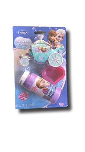 Disney Frozen Dip and Blow Bubbles - 1
