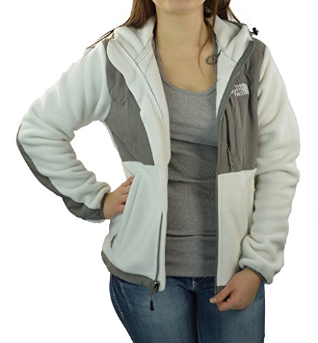 The North Face Denali Hoodie - Women'S Tnf White/Pache Grey X-Small