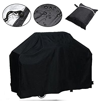 Waterproof BBQ Grill Cover Barbecue Grill Gas Covers Outdoor Indoor Protector (Only Black available)