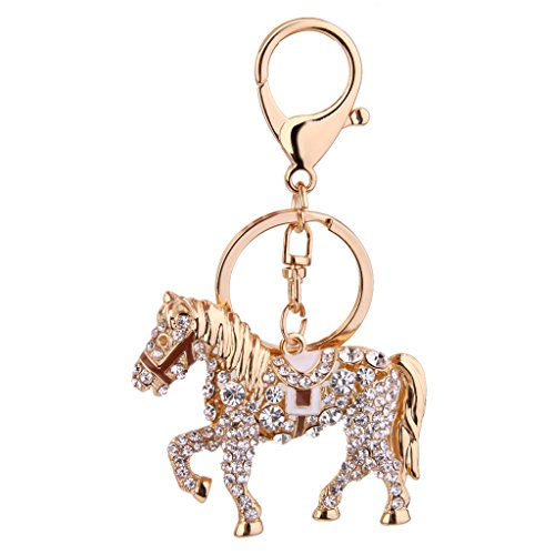 rhinestone-horse-pendant-keyring-keychain-key-chain-gift-gold