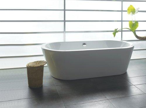 AKDY Bathroom White Color FreeStand Acrylic Bathtub AZ-F224
