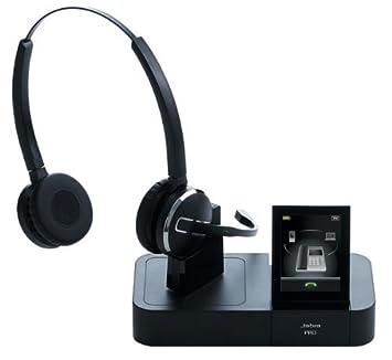 GN NETCOM Casque téléphonique Pro 9460 Duo sans fil portée 150 m