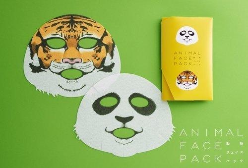 動物フェイスパック ANIMAL FACE PACK