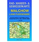 Malchow - Land Fleesensee 1 : 35 000 Rad-, Wander- und Gew?sserkarte: Mit Plau am See, Alt Schwerin, Zislow, Nossentiner H?tte, Jabel, G?hren-Lebbin (Sheet map)(German) - Common