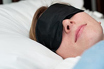 Sleep Mask By Comfy Outdoors - Light Blocking, Cool, Comfortable, Lightweight Travel Sleep Mask. Use Eye Mask for Sleeping, As a Shift Work Mask, and Meditation Mask. Sleep Better Anytime, Anywhere