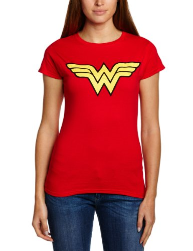 DC Comics Wonder Woman Logo T-shirt - 8 to 16