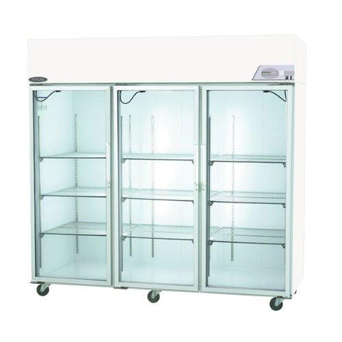 Nor-Lake Scientific Select Pass-thru Refrigerator +4C, Six door 3 Glass/3 solid Door 85 Cubic Ft.