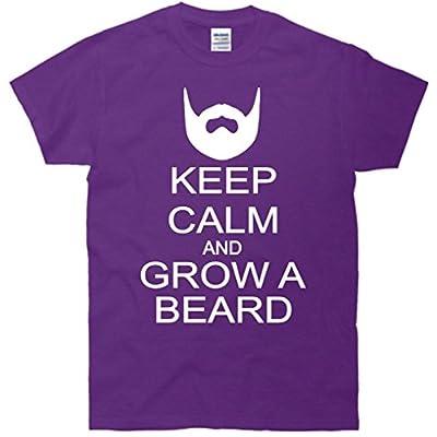 Keep Calm and Grow a Beard T-Shirt