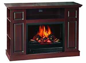 Sylvania SOM220 46FDW Electric Fireplace Heater Adjustable