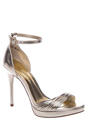 Isabel Ankle Strap High Heel Sandal